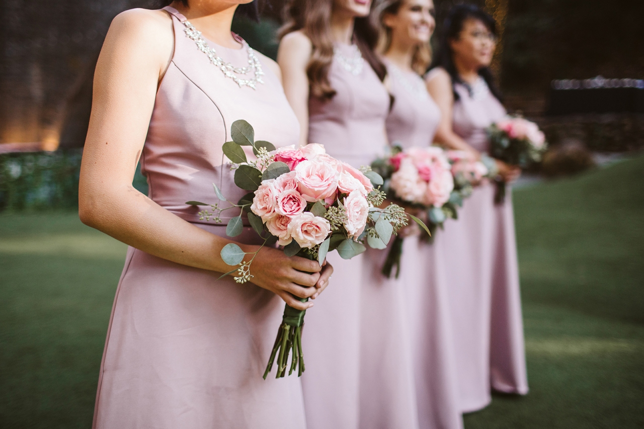 How I Designed My Bridesmaids' Bouquets (Designing Wedding Flowers: Part2/3)